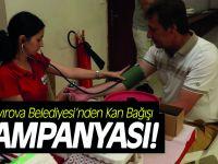 Çayırova Belediyesi'nden Kan Bağışı Kampanyası