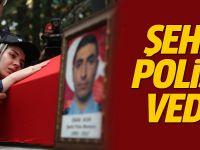 DEAŞ'lı teröristin şehit ettiği polis uğurlandı