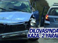 Dilovası'nda kaza: 2 yaralı