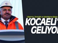 Bakan Arslan, Kocaeli'ye geliyor