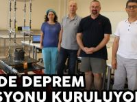 GTÜ'DE DEPREM İSTASYONU KURULUYOR