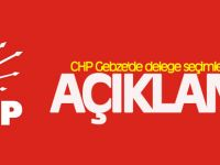 CHP Gebze'de delege seçimlerini tarihi açıklandı
