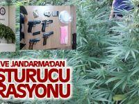 Emniyet Ve Jandarma'dan Uyuşturucu Operasyonu
