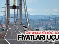 Osmangazi Köprüsü, bölgesinde fiyatları uçurdu