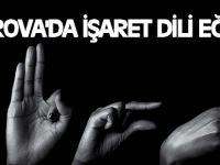 Çayırova'da İşaret Dili Eğitimi