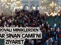 Çayırovalı miniklerden Mimar Sinan Camii'ni Ziyaret