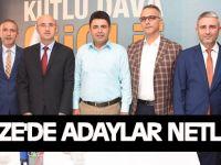 Gebze'de adaylar netleşti