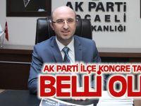 AK Parti ilçe kongre tarihleri belli oldu