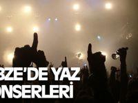 Gebze'de yaz konserleri