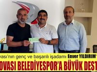 Enver Yıldırım'dan Dilovası Belediyespor'a büyük destek