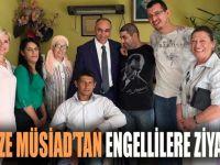 Gebze MÜSİAD'tan engellilere ziyaret