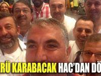 Karabacak Hac'dan döndü