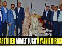 AK Partililer Ahmet Türk'ü yalnız bırakmadı