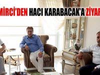 Demirci'den Karabacak'a ziyaret