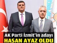 AK Parti İzmit'in adayı Hasan Ayaz oldu
