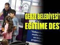 Gebze'de eğitime destek