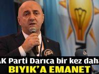 AK Parti Darıca bir kez daha Bıyık'a emanet