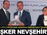 Adnan Köşker, Nevşehir'de