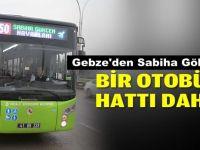 Gebze'den Sabiha Gökçen'e yeni otobüs hattı