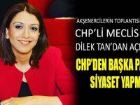 CHP'den başka partide siyaset yapmam