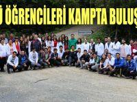 GTÜ'lü öğrenciler kampta buluştu!