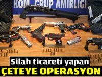 Gebze'de silah ticareti yapan çeteye operasyon