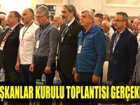 4. Başkanlar Kurulu toplantısı başladı