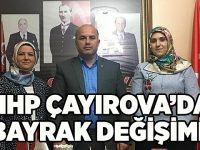 MHP Çayırova'da bayrak değişimi!