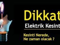 8 İlçede elektrikler kesilecek!