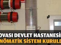 Dilovası Devlet Hastanesi'ne Pnömatik Sistem kuruldu