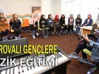 Çayırovalı Gençlere Müzik Eğitimi