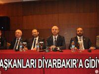 İl Başkanları hep birlikte Diyarbakır'a gidecek