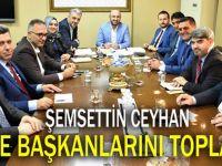 AK Parti'de ilçe başkanları toplandı