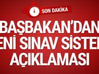 Başbakan Yıldırım'dan liselere giriş sınavı açıklaması