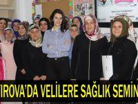 Çayırova'da Velilere Sağlık Semineri