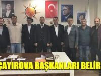 AK Çayırova başkanlarını belirledi