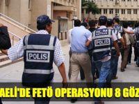 Kocaeli'de FETÖ operasyonunda 8 gözaltı