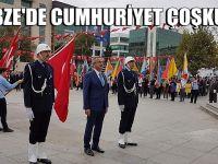 Gebze'de Cumhuriyet coşkusu!