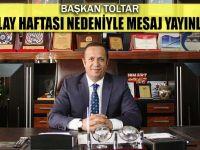 Başkan Ali Toltar'dan Kızılay Haftası Mesajı