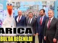 Darıca standı İstanbul maratonunda göz doldurdu