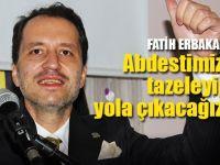Erbakan yeni partisini Kocaeli'de açıkladı