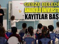 Anaokulu Üniversitesi'nde eğitim başladı