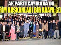 Ali Osman Gür, birim başkanları ile bir araya geldi