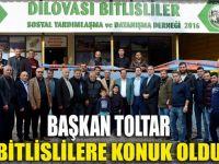 Başkan Toltar, Bitlis'lilere konuk oldu