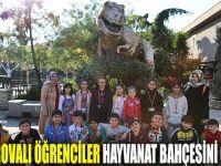 Çayırovalı öğrenciler hayvanat bahçesini gezdi