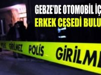 Gebze'de erkek cesedi bulundu!