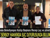 Dilovası Belediyespor suç duyurusunda bulundu!