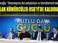Karaosmanoğlu'ndan AK Dilovası'na hayırlı olsun ziyareti