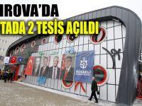 Çayırova'da bir haftada iki tesis açıldı