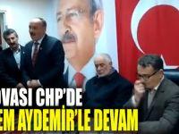 Dilovası CHP'de Kerem Aydemir ile devam